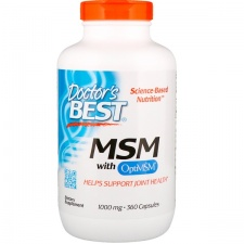 MSM with OptiMSM - 1000mg - 360 caps DrBest