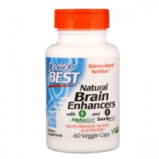 Natural Brain Enhancers - 60 vcaps DrBest
