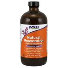 Natural Resveratrol 473ml Nowfoods