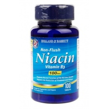 Non-Flush Niacyna B3, 100mg - 100 tablets Holland & Barrett
