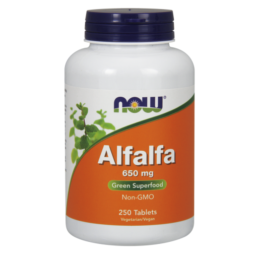 NOW ALFALFA 10 GRAIN 250 TABS