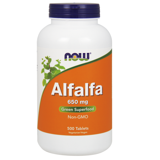 NOW ALFALFA 10 GRAIN 500 TABS