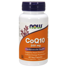 NOW CoQ10 200mg 60 VCAPS