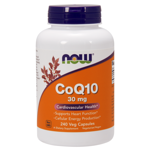 NOW CoQ10 30mg 240 VCAPS