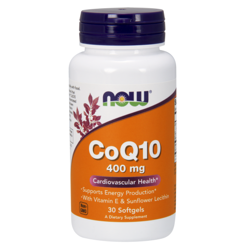 NOW CoQ10 400mg 30 SGELS