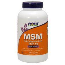 NOW FOODS MSM 1500mg - 200tabs