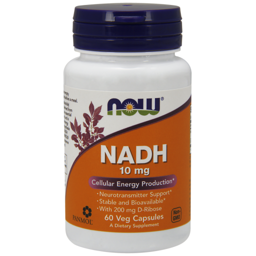 NADH 10MG 60 VCAPS Nowfoods