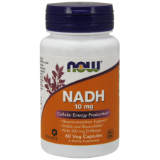 NOW FOODS NADH 10MG 60 VCAPS