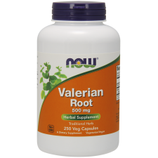 Now Foods, Valerian Root Waleriana, 500 mg, 250 kaps