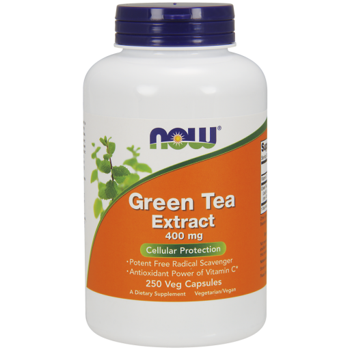 GREEN TEA EXTRACT 400 mg 250 VCAPS Nowfoods