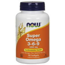 NOW SUPER OMEGA 3-6-9 1200MG 90 SGELS
