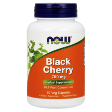 BLACK CHERRY CZEREMCHA EXTRACT 750mg 90kaps Nowfoods