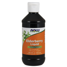 Czarny bez- ELDERBERRY 500 mg 237ml Nowfoods