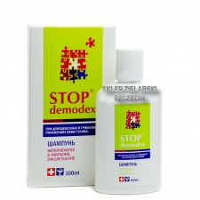 Szampon Stop Demodex Demodekoza, Nużyca, 100 ml Remedium