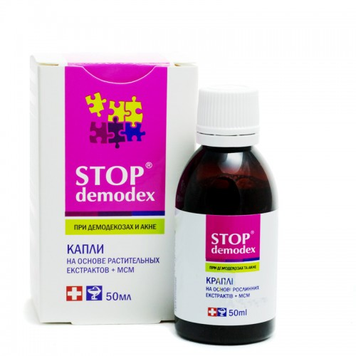 TONIK STOP DEMODEX - DEMODEKOZA, NUŻYCA, 50 ml
