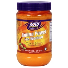 Amino power pre workout 600gram Nowfoods