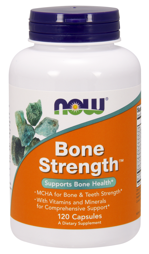 Bone Strength 120kaps Nowfoods