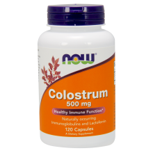 Colostrum 500mg 120kaps Nowfoods