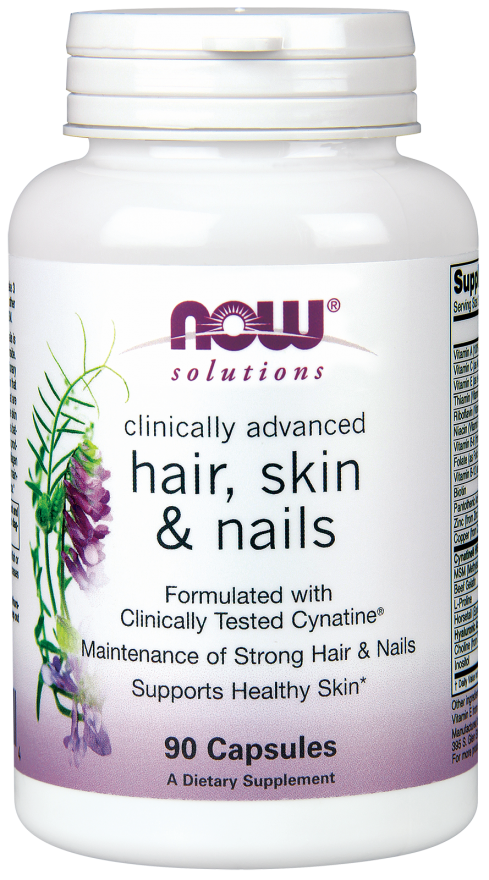 NowFoods Hair, Skin & Nails - 90 kapsułek