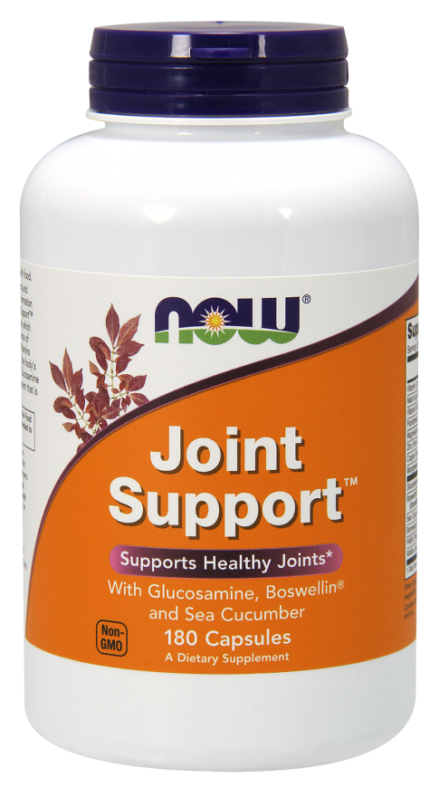 Joint support 180kaps Nowfoods