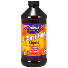 L-Karnityna Liquid, 1000mg Tropical Punch - 473 ml Nowfoods