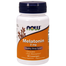 Melatonina 3mg 90tb do ssania Nowfoods