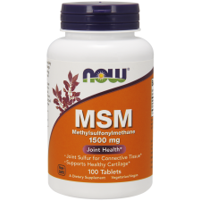 NOW FOODS MSM 1500mg - 100tabs