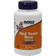 RED YEAST RICE CZERWONY RYŻ 1200 MG 60KAPS NOWFOO
