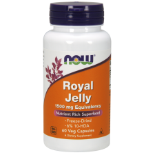 Royal Jelly, 1500mg Equivalency - 60 vcaps Nowfoods