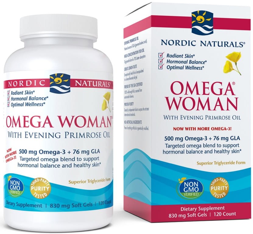 Omega Woman, 500mg - 120 softgels Nordic Naturals