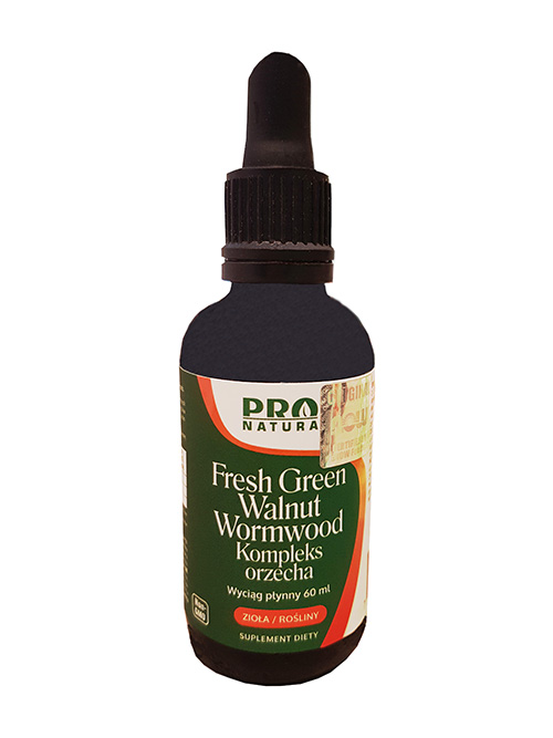 Fresh Green Walnut Extract Kompleks Orzecha 60ml