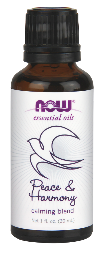 Peace & Harmony Oil Blend 30ml Nowfoods
