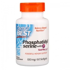 Phosphatidylserine Serine with SerinAid - 100mg - 60 softgels DrBest
