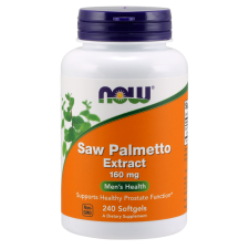 Saw palmetto 160mg 240softgels Nowfoods