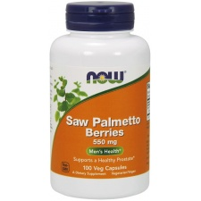 Saw Palmetto Berries - 550mg - 100 vcaps Nowfoods
