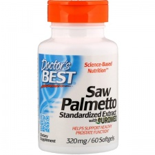 Saw Palmetto Standardized Extract - 320mg - 60 softgels DrBest