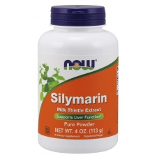 Silymarin Milk Thistle Extract - Pure Powder - 113 grams Nowfoods