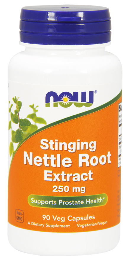 Stinging Nettle Root Extract, 250mg - 90 vcaps Nowfoods