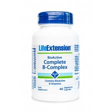 Vitamin B Complex 60 kaps LifeExtension