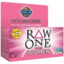 Vitamin Code RAW ONE for Women - 75 vcaps Garden of life