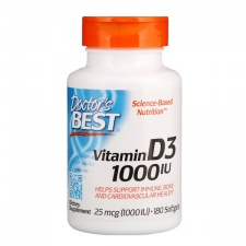 Vitamin D3 - 1000 IU - 180 softgels DrBest