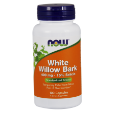 White Willow Bark 400 mg - 100 kapsułek Nowfoods