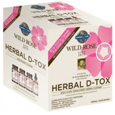 Wild Rose Herbal D-Tox 12-Day Cleanse - 1 kit Garden of life
