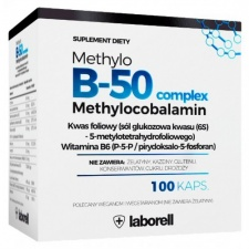 Witamina B50 B-50 Mthylowa Methyl 100kp Laborell