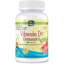 Witamina D3 Gummies Kids, 400 IU Watermelon - 60 gummies Nordic Naturals